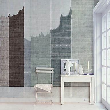 Tile Pattern Home Decoration Modern Wall Covering, Non-woven fabric Material Adhesive required Mural, Room Wallcovering