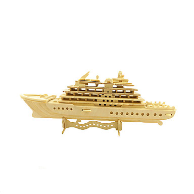 Jigsaw Puzzle Wood Model Model Building Kit Warship Aircraft Carrier 3D Fun Wood Classic