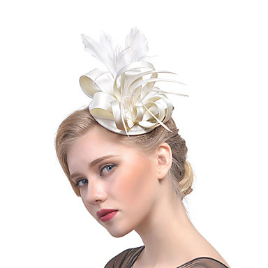 Feather / Fabric Fascinators with 1 Wedding / Party / Evening Headpiece