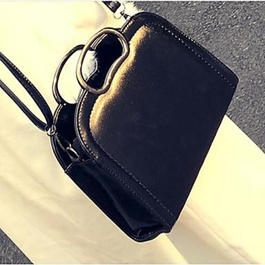 Women Bags All Seasons PU Shoulder Bag for Casual Outdoor Black Brown Wine