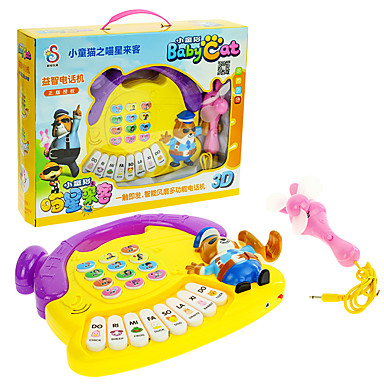 Toy Phones Pretend Play Educational Toy Toys Fun Plastics Children's Unisex Pieces