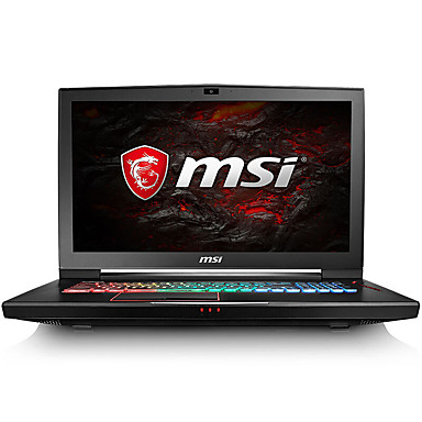 Msi pelaamista kannettava tietokone 17,3 tuumaa intel i7-7700hq 16gb ddr4 1tb hdd 128gb ssd windows10 gtx1060 6gb gt73evr 7rd-818cn