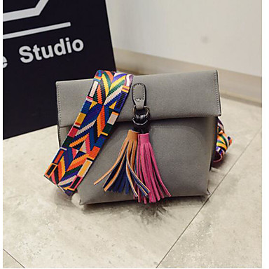 Women Bags All Seasons PU Shoulder Bag for Casual Outdoor Black Blushing Pink Gray