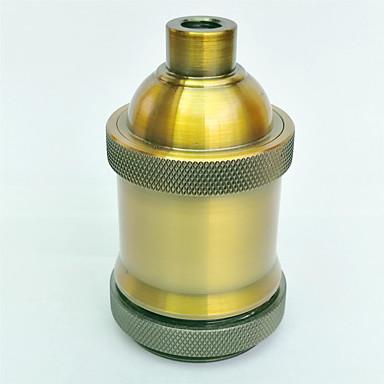e27 arany antik lámpa tartó rövidszálas magas színvonalú világítási tartozék