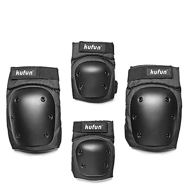 Adult Protective Gear Knee Pads Elbow Pads for Cycling Skateboarding Eases pain Breathable 4 pack Outdoor PP