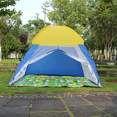 2 person Screen Tent Tent Single Camping Tent Outdoor Automatic Tent Camping & Hiking Rain-Proof Dust Proof Tent for Camping / Hiking