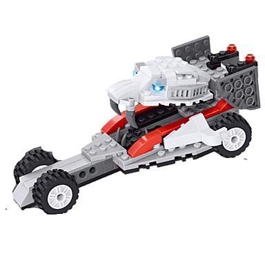 JIE STAR Carros de Brinquedo Blocos de Construir Quadrada Charrete Unisexo Dom
