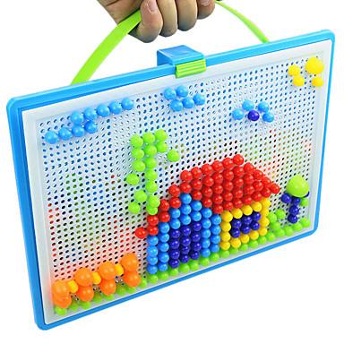 voordelige tekening Speeltjes-3D-puzzels Legpuzzel Mozaïeksets Educatief speelgoed Anti-stress Nieuwigheid Bol Paddestoel Sierstenen 296pcs Unisex Geschenk