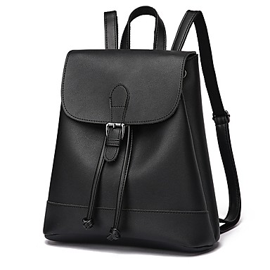 Women's Bags PU Backpack for Sports / Outdoor Black / Gray / Wine