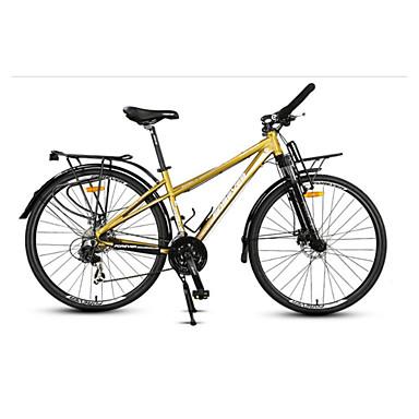 Komfort Sykler Sykling 24 Trinn 26 tommer (ca. 66cm)/700CC Shimano Skivebremse Vanlig Ramme i aluminiumslegering Vanlig Anti-Skli