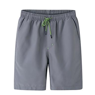 Herre Shorts til jogging Fritid/hverdag Shorts til Løper Trening & Fitness Polyester Løstsittende Svart Grå Blå L XL XXL XXXL XXL-XXXL