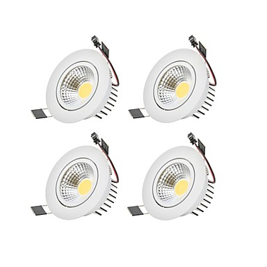 6W 1 LEDs Dimmable LED Downlights Warm White / Cold White 110-220V Garage / Carport / Storage Room / Utility Room / Hallway / Stairwell