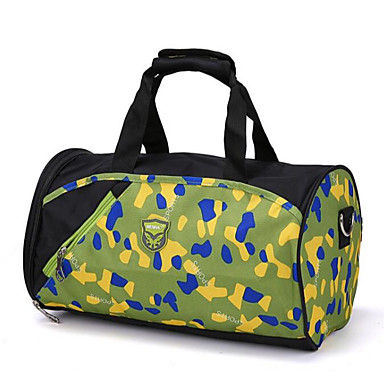Unisex Bags All Seasons Polyester Travel Bag for Casual Outdoor Blue Green Black Fuchsia