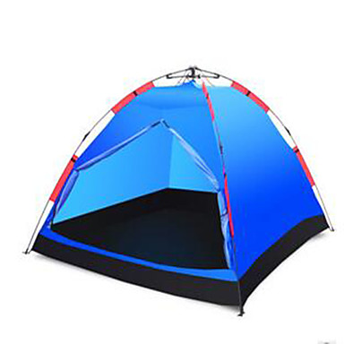 3-4 persons Tent Camping Tent Automatic Tent Keep Warm Rain-Proof for Stretch Satin CM