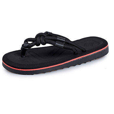 Homens sapatos Couro Ecológico Verão Solados com Luzes Mocassim Chinelos e flip-flops Tênis Anfíbio para Casual Preto Castanho Escuro