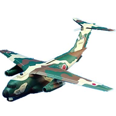 Quebra-Cabeças 3D Maquetes de Papel Brinquedos de Montar Artesanato de Papel Aeronave Lutador 3D Faça Você Mesmo Simulação Clássico 6
