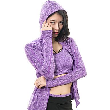 Mulheres Moletom Fitness, Corrida e Yoga Anti-Shake Secagem Rápida Conjuntos de Roupas Ioga Exercício e Atividade Física Cooper Fitness