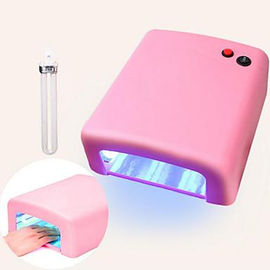 pinpai jd818 lys terapi maskin 36w lampe nagel uv olje tørking manikyr verktøy