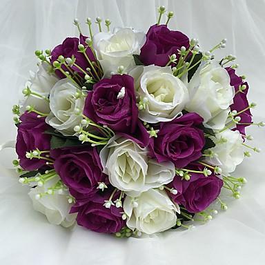Bouquets de Noiva Buquês Casamento Cetim 9.84