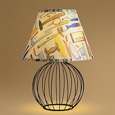 Ylöspäin valot Nykyaikainen Pöytälamppu Loistava Päälle/pois -kytkin AC-virtalähde 220-240V
