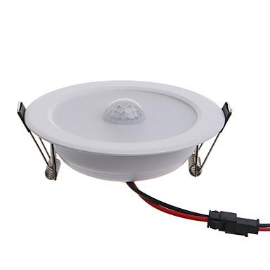 billige Elpærer-5 W Smart LED-lampe 450 lm Innfelt retropassform 10 LED perler SMD 5630 Infrarød sensor Dekorativ Menneskekroppssensor Varm hvit Kjølig hvit 85-265 V / 1 stk.