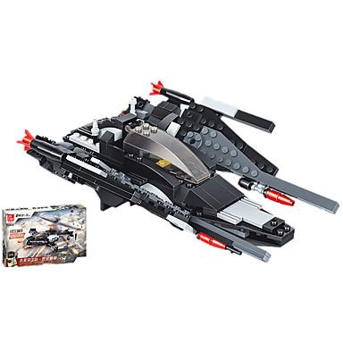 JIE STAR Blocos de Construir Brinquedos de Montar Helicóptero Quadrada Pato Tanque Aeronave Eagle Helicóptero Para Meninos Unisexo Dom