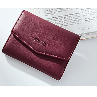 Women Coin Purse PU Polyester All Seasons Casual Outdoor Square Clasp Lock Red Blushing Pink Light Blue