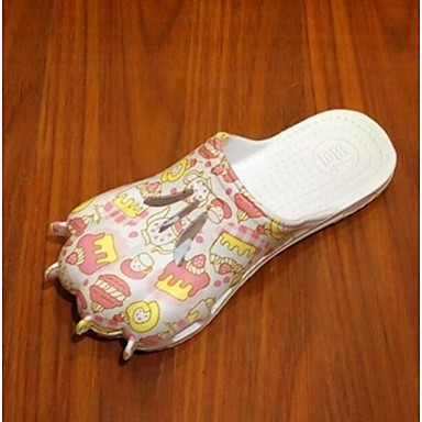 Women's Slippers & Flip-Flops Comfort Summer PVC Casual Blushing Pink Flat
