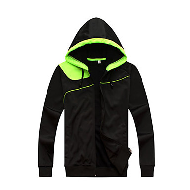 Men's Soccer Sweatshirt Top Comfortable Winter Fall/Autumn Simple Polyester Tactel Football/Soccer