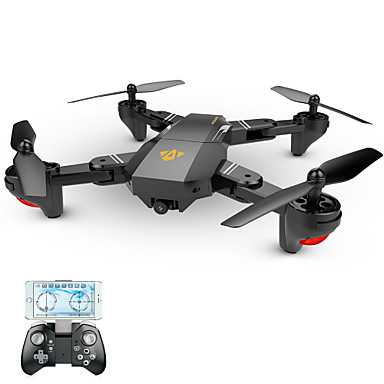 Visuo XS809W 720p WiFi FPV Remote-Controlled Quadcopter Drone (Black)