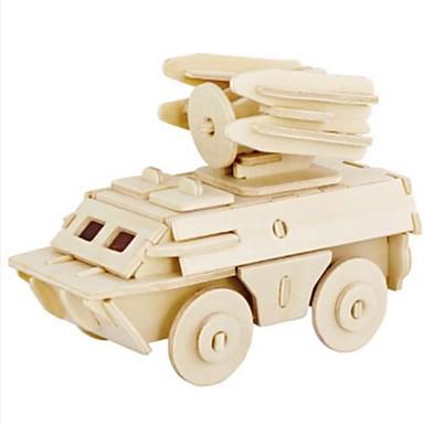 Robotime 3D-puslespill Puslespill Tremodeller Tank Løve GDS Tre Naturlig Tre Barne Unisex Gave