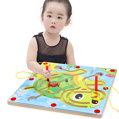 Balls Maze & Sequential Puzzles Maze Toys Extra Large Flat Shape Wood Cartoon 1 Pieces Kids Christmas Children's Day Gift