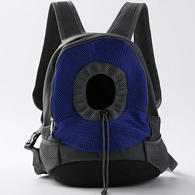 Cica / Kutya Hordozók és hátizsákok utazáshoz / Első hátizsák / kutya Pack Házi kedvencek Hordozók Hordozható / Állítható / Behúzható / Kétoldalú Egyszínű Sárga / Kék
