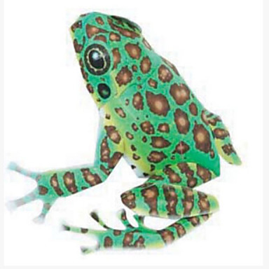 3D Puzzles Paper Model Paper Craft Model Building Kit Frog DIY Hard Card Paper Classic Kid's Unisex Gift