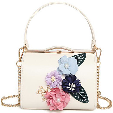 Women Bags All Seasons PU Shoulder Bag for Casual Outdoor Blue Pale Pink Apricot