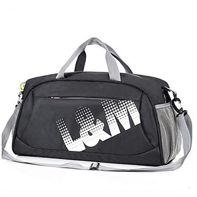 Men Bags All Seasons Polyester Travel Bag for Casual Outdoor Blue Black