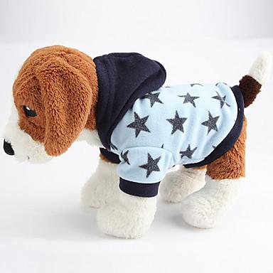 Koira Hupparit Koiran vaatteet Tähdet Pinkki / Vaalean sininen Puuvilla Asu Lemmikit Miesten / Naisten Rento / arki