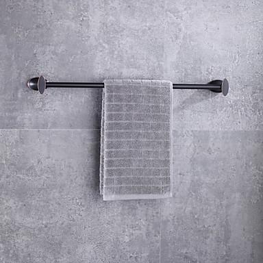Barra para Toalha Moderno / Contemporâneo Metal 1 Pça. - Banho do hotel 1 barra de toalha Montagem de Parede