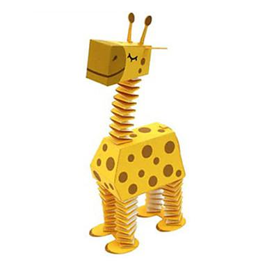 voordelige 3D-puzzels-3D-puzzels Bouwplaat Modelbouwsets Hert Dieren DHZ Hard Kaart Paper Klassiek Cartoon Kinderen Unisex Speeltjes Geschenk
