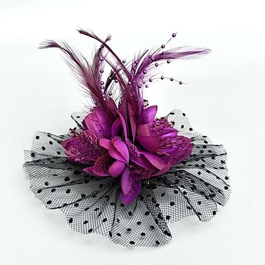 abordables Coiffes-Filet Fascinators / Chapeaux / Coiffure avec Fleur 1pc Mariage / Occasion spéciale / Fête / Soirée Casque