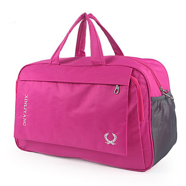 Unisex Bags All Seasons Oxford Cloth Travel Bag for Casual Outdoor Blue Black Red Purple Fuchsia