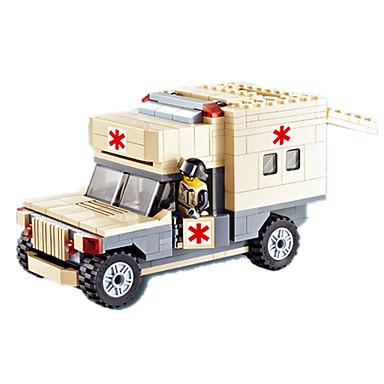JIE STAR Carros de Brinquedo Blocos de Construir Quadrada Aeronave Para Meninos Unisexo Dom