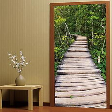 Landscape Abstract Wall Stickers 3D Wall Stickers Decorative Wall Stickers,Plastic Material Home Decoration Wall Decal