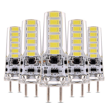 YWXLIGHT® 5pcs 4W 300-400lm LED Bi-pin Lights T 12 LED Beads SMD 5730 Dimmable Decorative Warm White Cold White 12V 12-24V