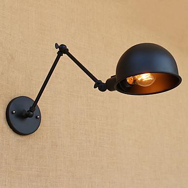 Simple / Country / Retro Swing Arm Lights Metal Wall Light 110-120V / 220-240V 40W
