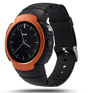 Smart Watch Touch Screen Heart Rate Monitor Water Resistant / Water Proof Pedometers Distance Tracking Information Hands-Free Calls