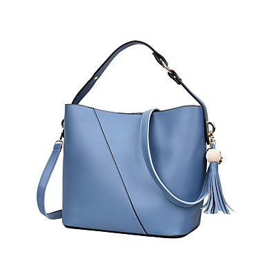 Women Bags PU Tote for Wedding Event/Party Casual Formal Office & Career All Seasons Blue White Black Red Blushing Pink