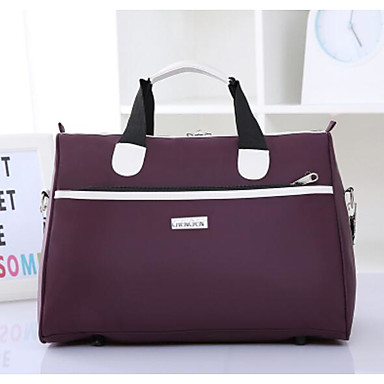 Unisex Bags All Seasons Oxford Cloth Polyester Tote for Casual Outdoor Blue Black Fuchsia Amethyst