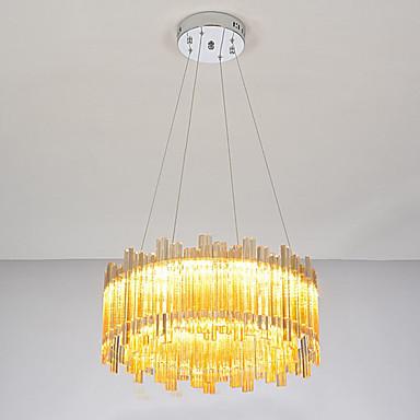 Lustres Luz Ambiente - Cristal, 110-120V / 220-240V Fonte de luz LED incluída