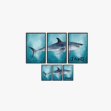 Eläimet Piirretty Muoti Wall Tarrat Lentokone-seinätarrat 3D-seinätarrat Koriste-seinätarrat,Vinyyli materiaali Kodinsisustus Seinätarra